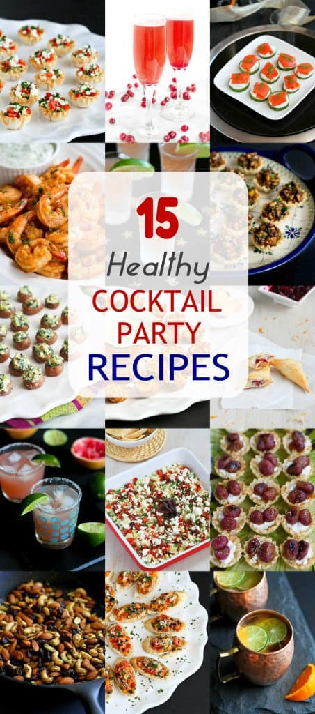 15 Healthy Cocktail Party Recipes