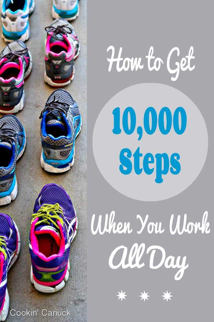How to Get 10,000 Steps When You Work All Day