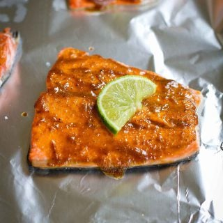 Quick Curry Salmon Recipe (15 Minute Meal)