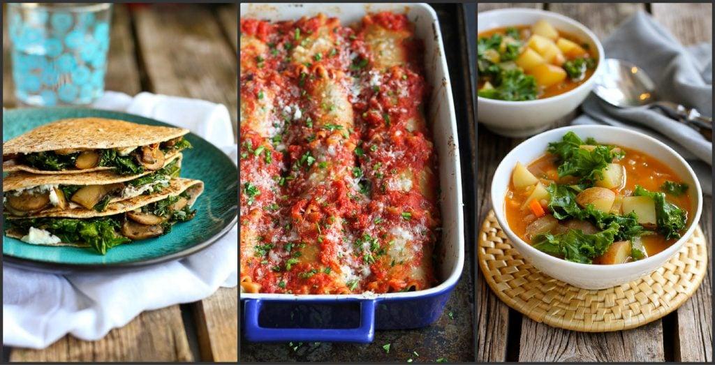 Healthy Vegetarian Entrees