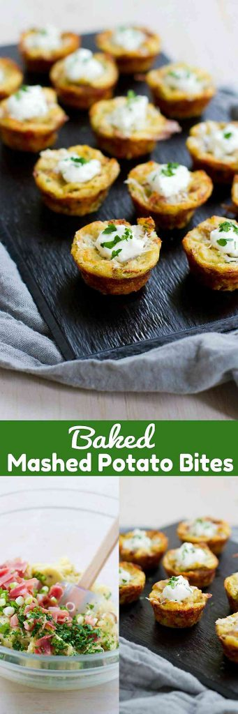 You won't be able to eat just one of these Baked Mashed Potato Bites, the perfect lightened-up appetizer! For 2 bites…81 calories and 3 Weight Watchers Freestyle SP