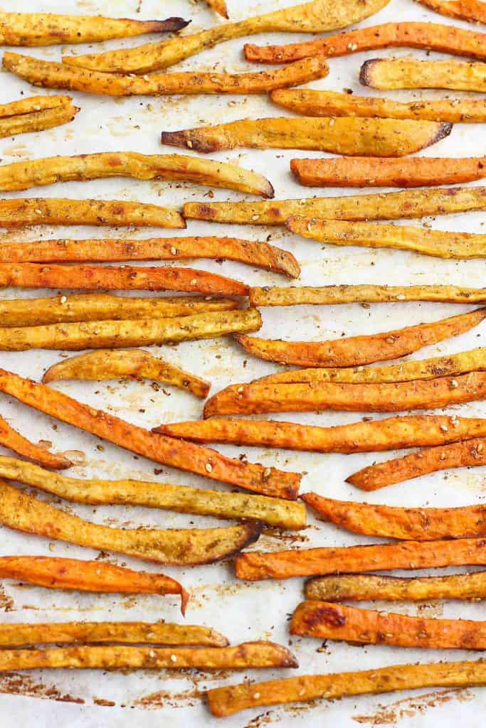 Baked Sweet Potato Fries With Za Atar Cookin Canuck