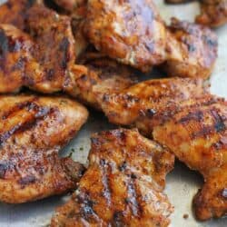 Grilled (or Broiled) Spice Rubbed Chicken Recipe
