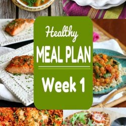 Healthy Meal Plan {Week 1}