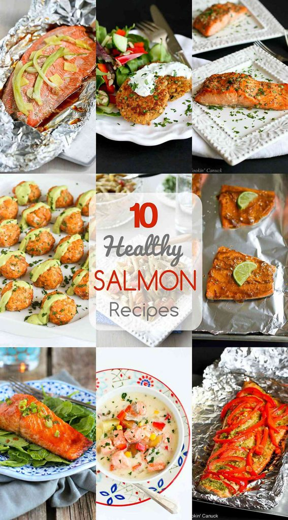 10 healthy salmon recipes quick and easy dinner ideas preparing healthy salmon recipes doesnt need to be difficult get all of the forumfinder Image collections