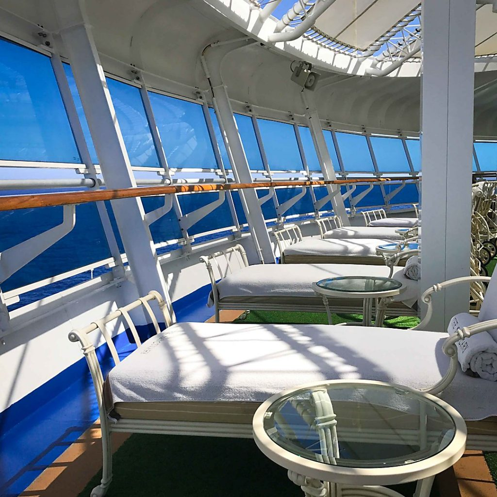 Ruby Princess Mexican Riviera Cruise. The Sanctuary