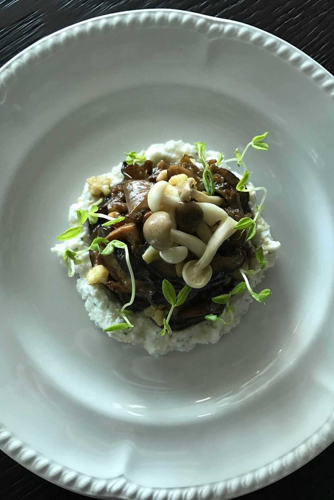 Ruby Princess Mexican Riviera Cruise.  SHARE restaurant mushroom ragout