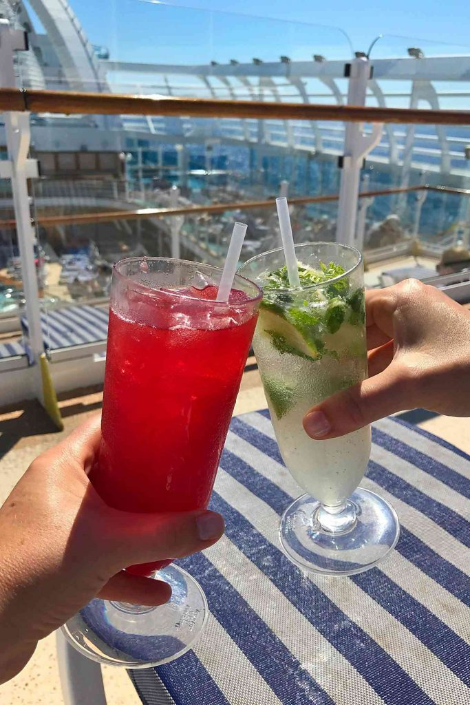 Mexican Riviera Cruise, The Ultimate Cooler cocktail
