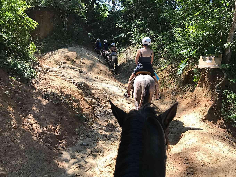 Ruby Princess Mexican Riviera Cruise.  Puerto Vallarta horseback riding excursion