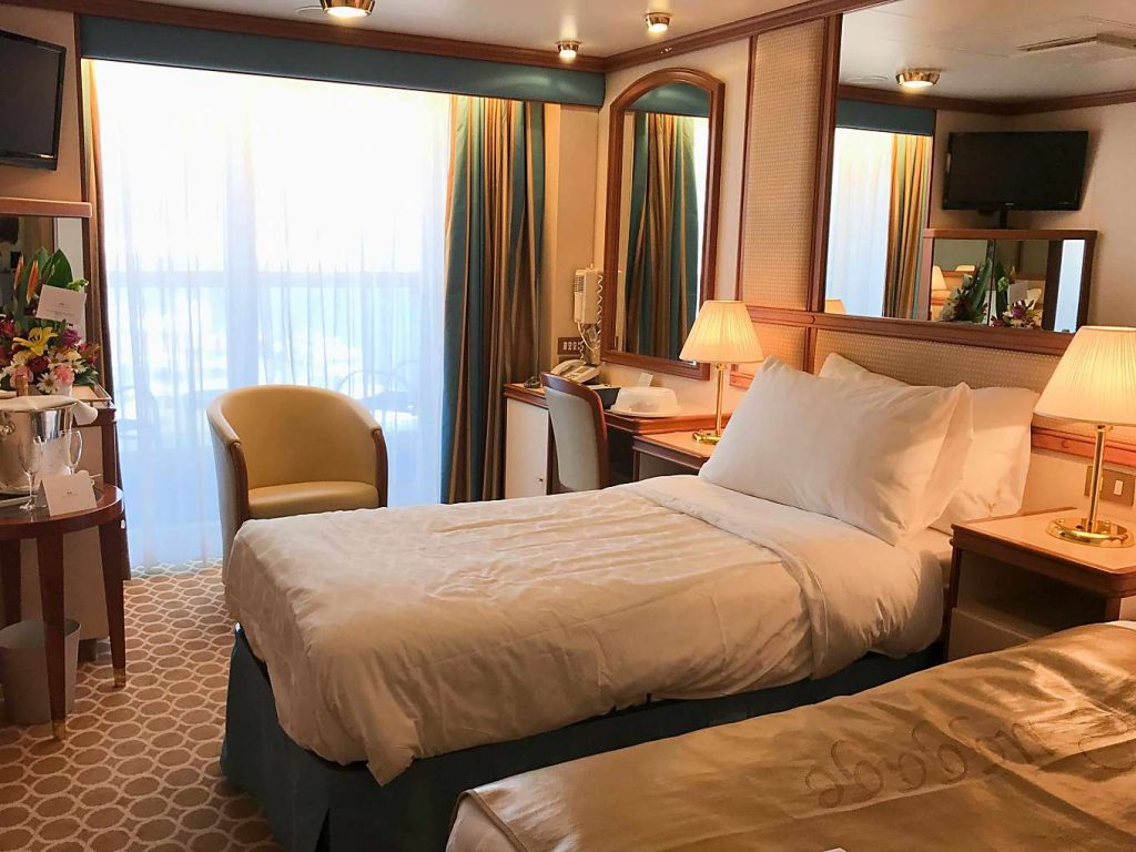 Ruby Princess Mexican Riviera Cruise Stateroom