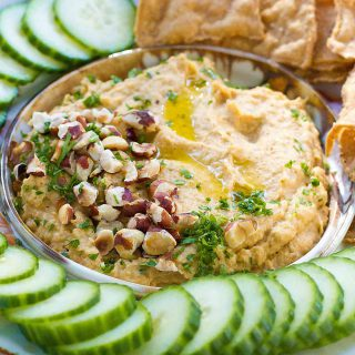Roasted Cauliflower Dip Recipe {Vegan}