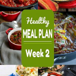 Healthy Meal Plan {Week 2}