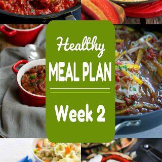 Healthy Meal Plan {Week 2}