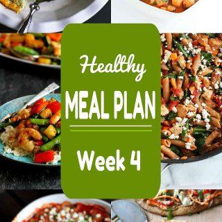 Healthy Meal Plan {Week 4}