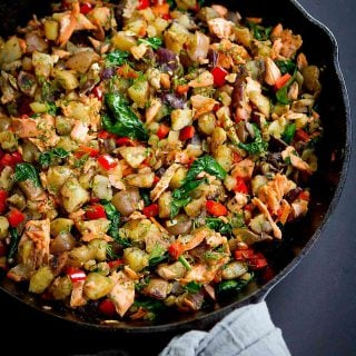 Skillet Salmon Potato Hash Recipe