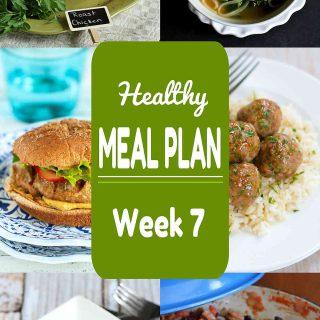 Healthy Meal Plan {Week 7}