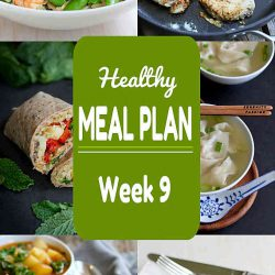 Healthy Meal Plan {Week 9}