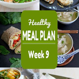 Healthy Meal Plan Week 9 - Meat and Meatless Recipes