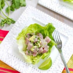 Margarita Ahi Tuna Ceviche Recipe