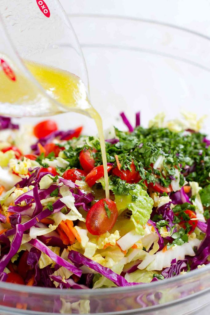 Once you taste this BLT Slaw recipe, you'll want to make it for every summertime potluck and barbecue! 98 calories and 3 Weight Watchers SmartPoints