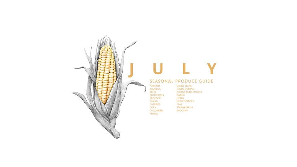 July Eat Seasonal Produce Guide