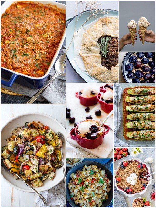 Eat Seasonal Recipes for August