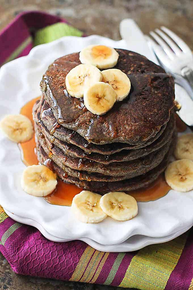 Buckwheat Blender Pancakes…A quick, healthy breakfast recipe that happens to be gluten free! 125 calories and 4 Weight Watchers Freestyle SP