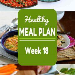 Healthy Meal Plan {Week 18}