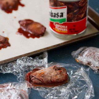 How to Freeze Chipotle Peppers - Keep them on hand to a little zip to your soup, chili and more!
