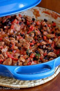 One-Pot Sausage and Bean Ragout Recipe...Only 225 calories and easy clean-up