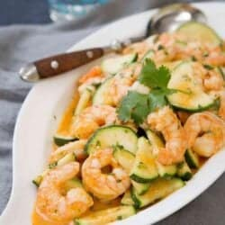 Thai Shrimp Stir Fry Recipe with Zucchini
