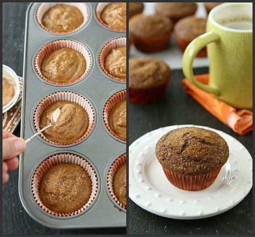 Whole Wheat Pumpkin Spice Latte Muffins Recipe