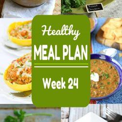 Healthy Meal Plan {Week 24}