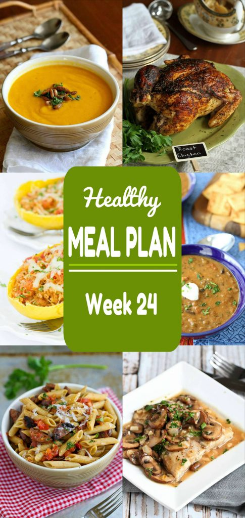 Plenty of meat and meatless recipes for meal planning this week!