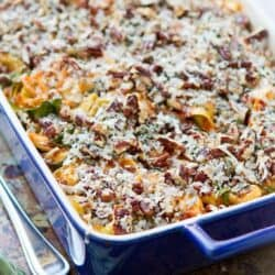 Baked Tortellini with Turkey, Butternut Squash & Chard Recipe