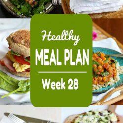 Healthy Meal Plan {Week 28}