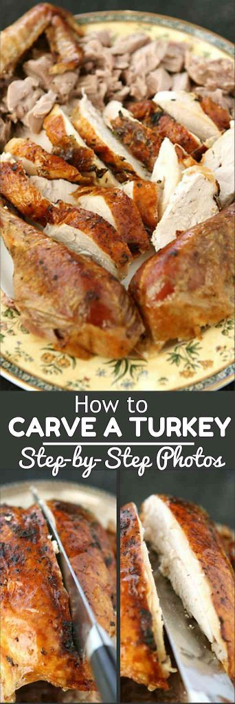 How to Carve a Turkey, with Step-by-Step Photos