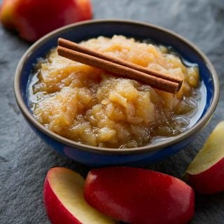Whip up a batch of this Instant Pot Applesauce in about 30 minutes. Serve it with roast chicken or on top of ice cream. 143 calories and 1 Weight Watchers Freestyle SP