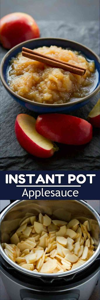 It's simply not the holiday without applesauce and this Instant Pot recipe takes only 30 minutes to make! 143 calories and 1 Weight Watchers Freestyle SP