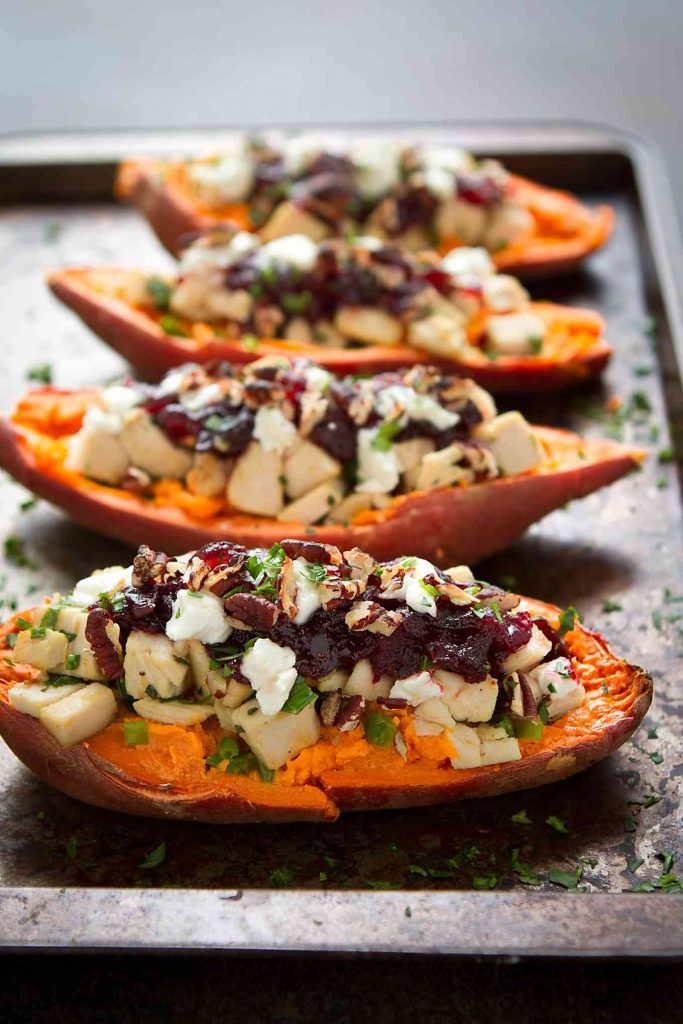 Stuffed sweet potato recipes are fantastic for easy weeknight dinners. 274 calories and 7 Weight Watchers Freestyle SP