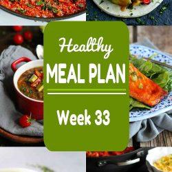 Healthy Meal Plan {Week 33}