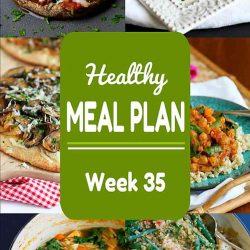 Healthy Meal Plan {Week 35}