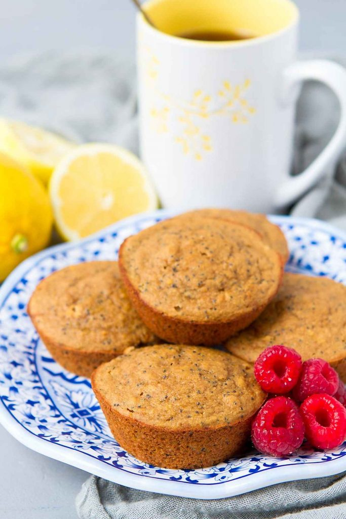 Proclaimed to be the best lemon poppy seed muffins by my family. They are healthy, gluten free and absolutely delicious! 128 calories and 4 Weight Watchers Freestyle SP