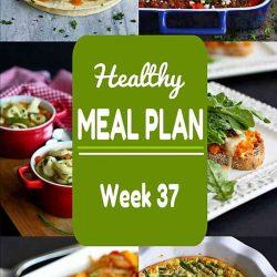 Healthy Meal Plan {Week 37}