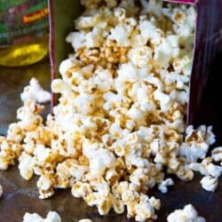 Love taco flavors? Love popcorn? Put them together in this healthy Taco Popcorn for an easy, whole grain snack! 102 calories and 3 Weight Watchers Freestyle SP