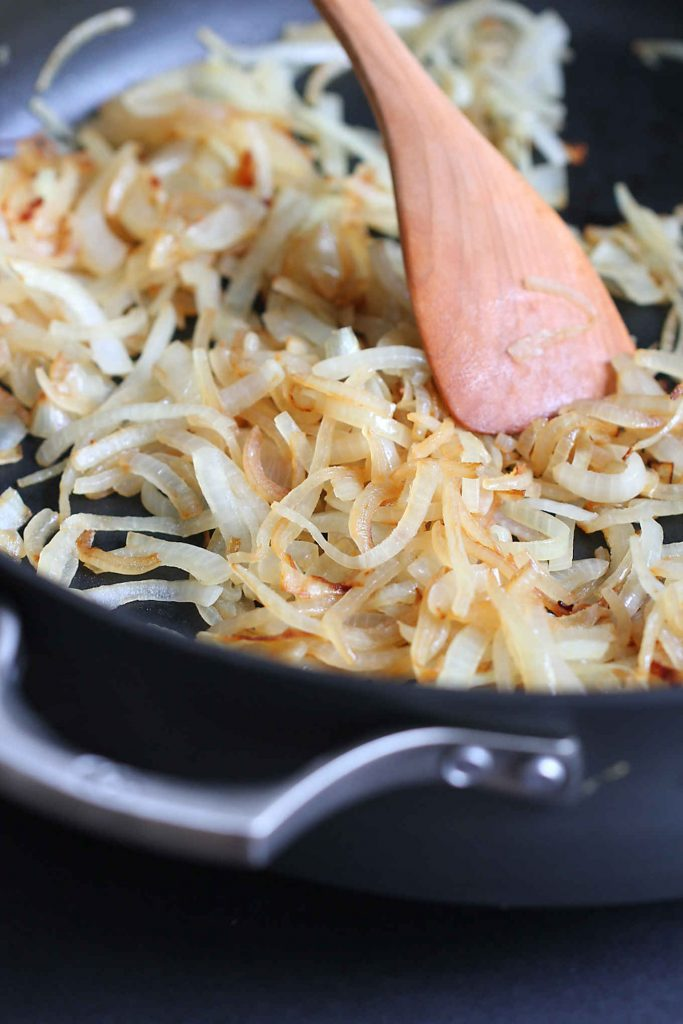 How do you caramelize onions? This post shows you how, step by step.