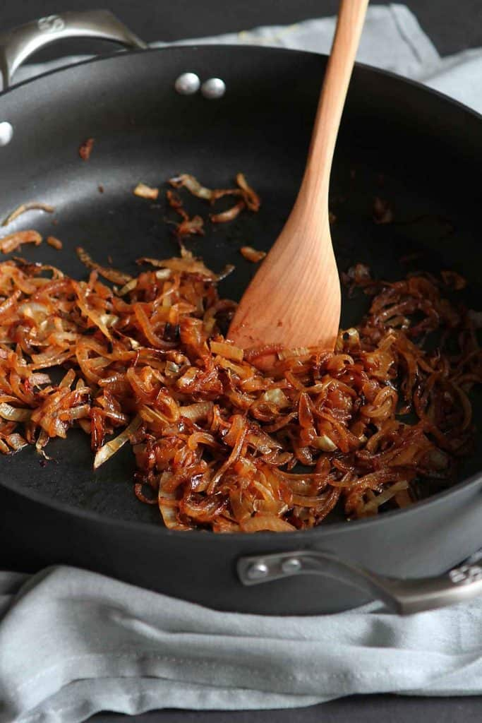 There is no easier way to add flavor to soups, pizzas, sandwiches and salads than a dose of caramelized onions. Learn how to caramelize onions in this step-by-step tutorial.