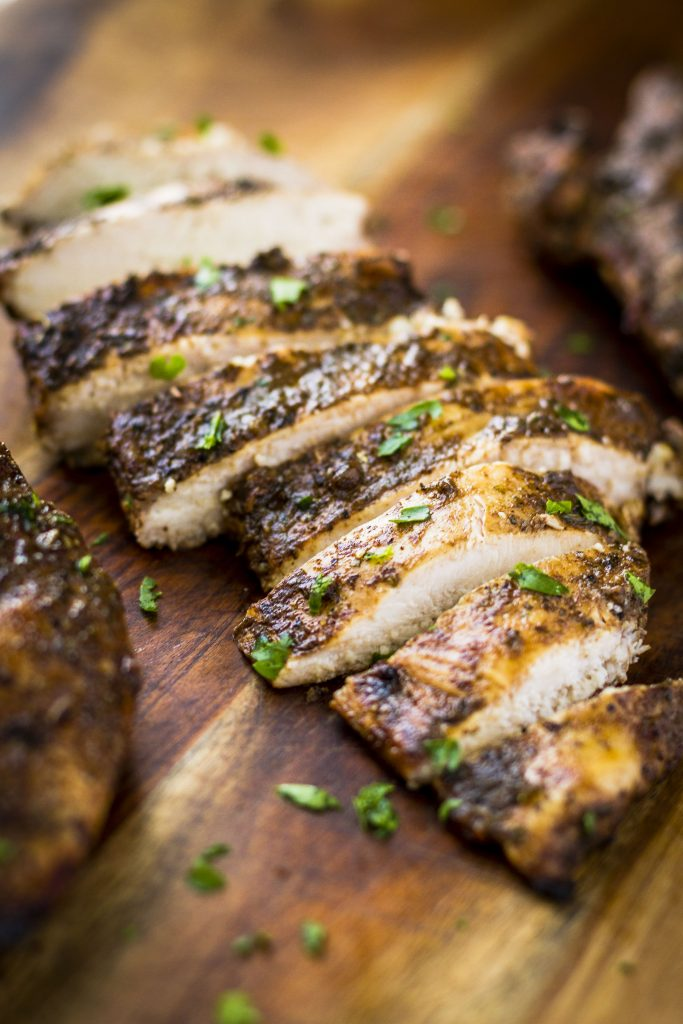 Juicy Balsamic Grilled Chicken by Unsophisticook