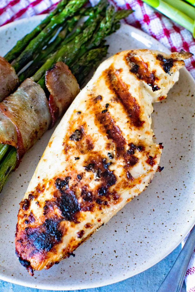 Caesar Grilled Chicken Breasts by Gimme Some Grilling