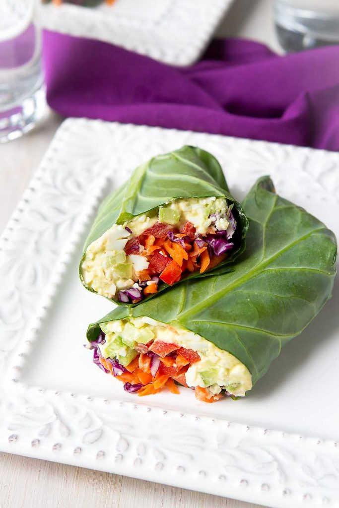 Serve up these vegetarian wraps for a light lunch or pack them on your next picnic. 152 calories and 0 Weight Watchers Freestyle SP